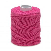 Ficelle fil de Coton Rose Fuchsia