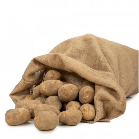 Sac en Toile de Jute 50 kg grand format pour pomme de terre