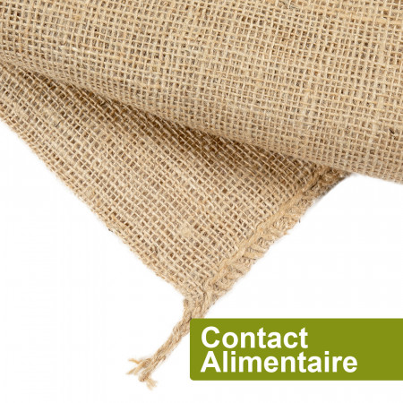 Sac jute Contact Alimentaire 15kg