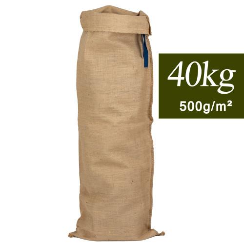 Sac en jute long 40 kg, 40x135cm 500g