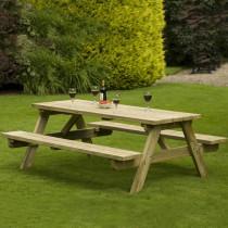 Table Jardin, Table Bois 6 Personnes