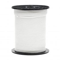 Tresse 2mm, corde ronde 200m blanc