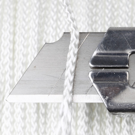 Tresse 2mm, corde ronde 200m blanc 2