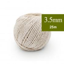 Ficelle de Sisal 3.5 mm, 25m