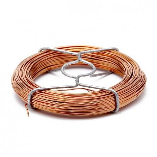 Bobinot fil de cuivre 1.0 mm - 30 m