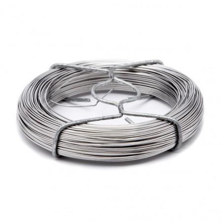 Bobinot fil acier inox 0.8 mm - 50 m