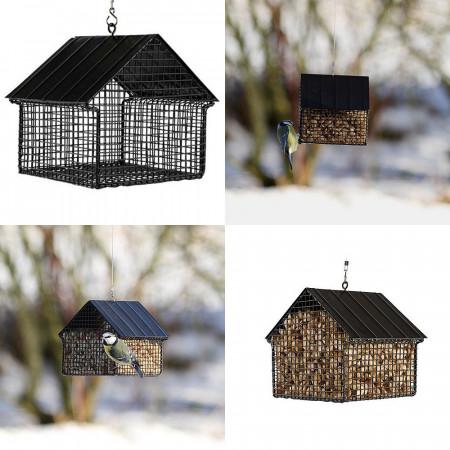 Mangeoire aux oiseaux, cacahuètes pour l'hiver