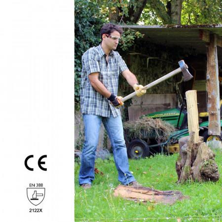 gants travaux de coupe de bois et de buches