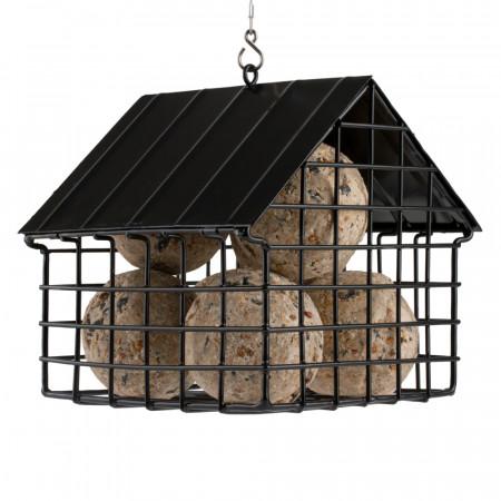 Mangeoire aux oiseaux pour boules de graisse.