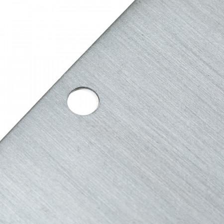 Etiquette de jardin en métal, à suspendre ou sur piquet