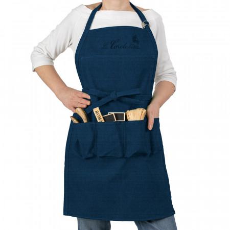 Tablier de jardin Jeans Bleu