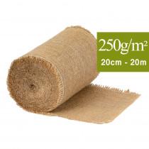 Toile de jute, bande 20 cm