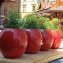 Grand Pot de Fleur Design Exterieur