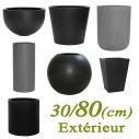 Bac Jardiniere et Pot Jardin Fiberstone