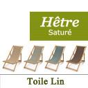 Transat Hêtre Saturé et Toile de Lin