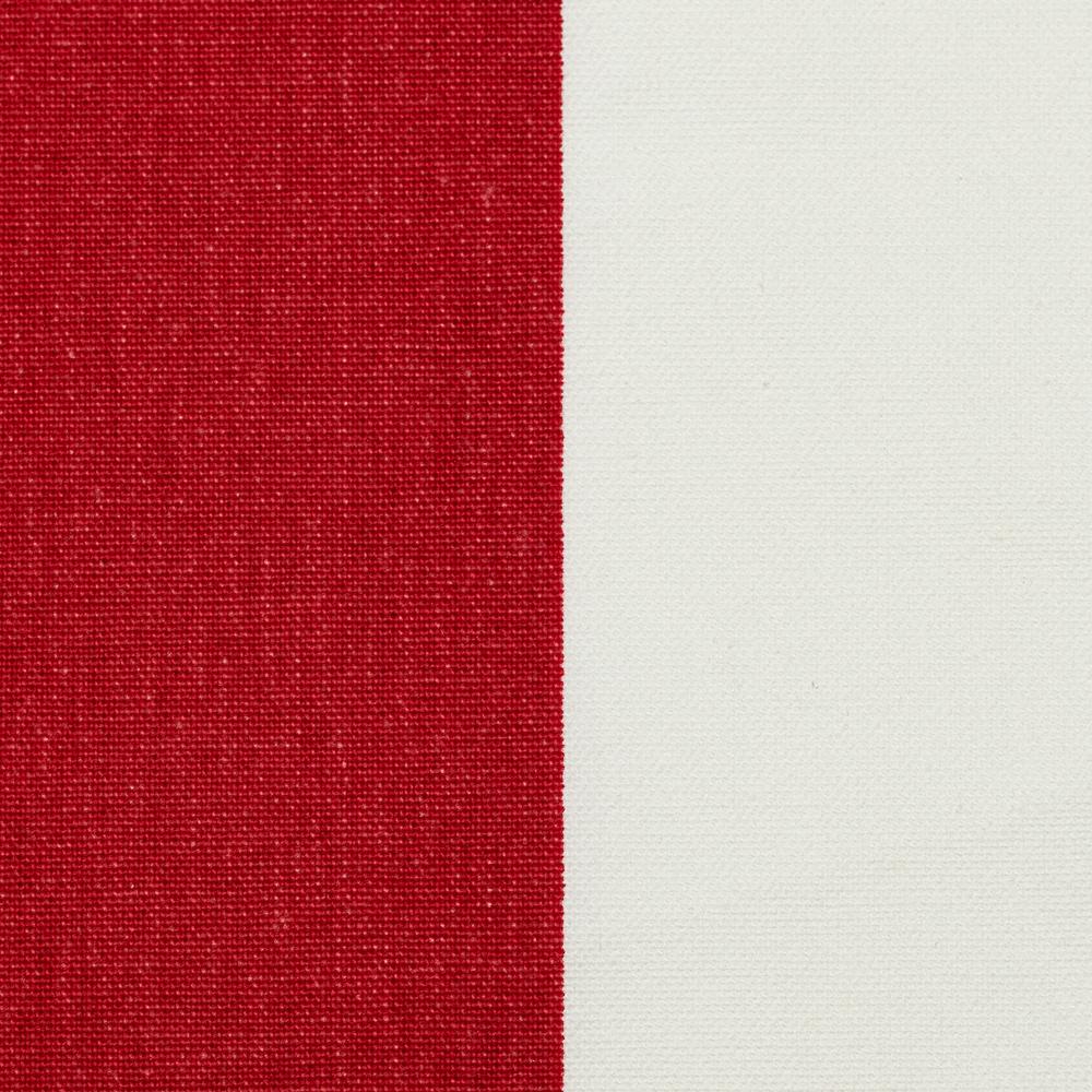 Tissu du Pliant pecheur jardin blanc rouge