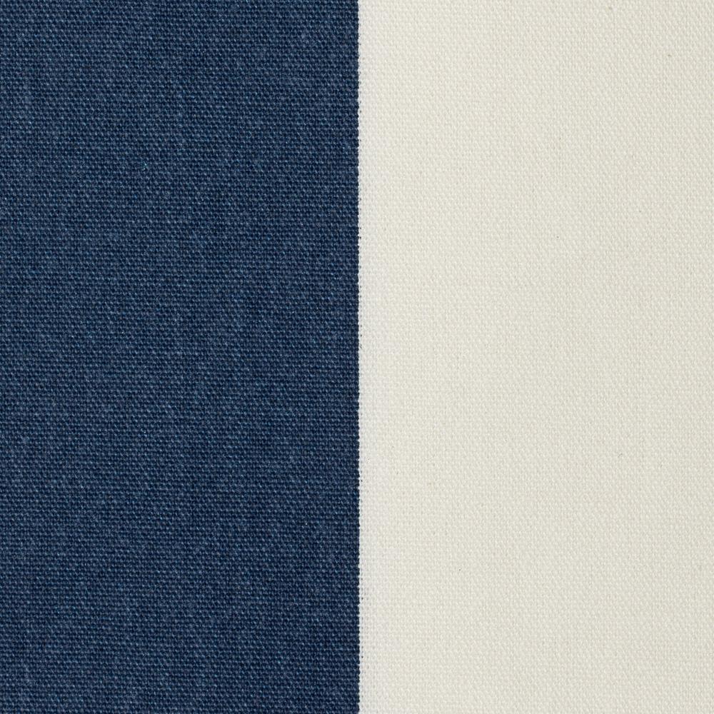 Tissu du Pliant pecheur jardin blanc bleu