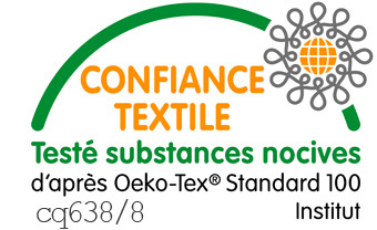 Tissu du Tabouret pliant - Numéro de Certification Oeko-tex