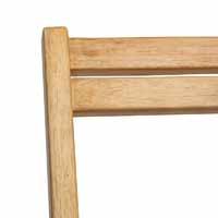 Articulation haute du transat bois, vue intérieur